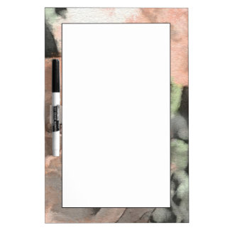 art floral vintage background with light pink dry erase board
