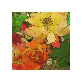 art floral vintage colorful background 2