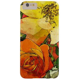 art floral vintage colorful background 2 barely there iPhone 6 plus case