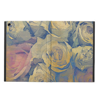 art floral vintage colorful background cover for iPad air