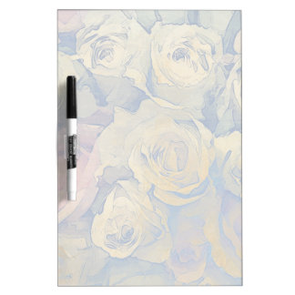 art floral vintage colorful background dry erase board
