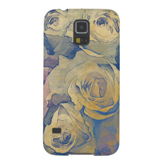 art floral vintage colorful background galaxy s5 case