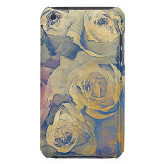 art floral vintage colorful background iPod touch cover