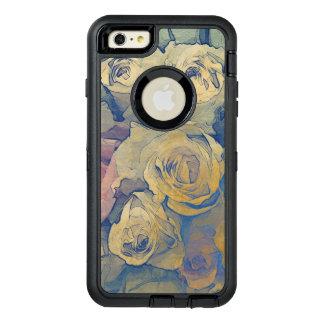 art floral vintage colorful background OtterBox defender iPhone case