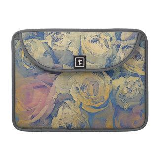 art floral vintage colorful background sleeve for MacBooks