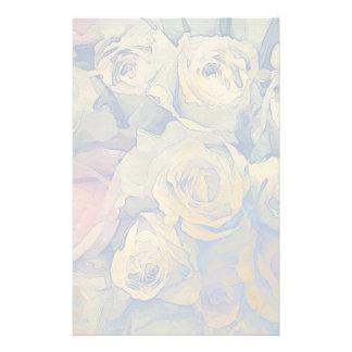 art floral vintage colorful background stationery