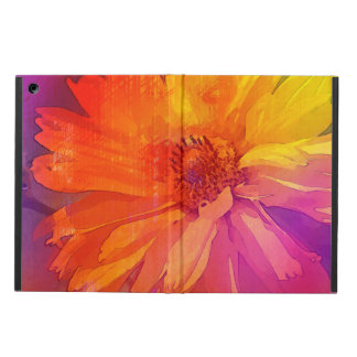 Art Floral Vintage Rainbow Background Cover For iPad Air