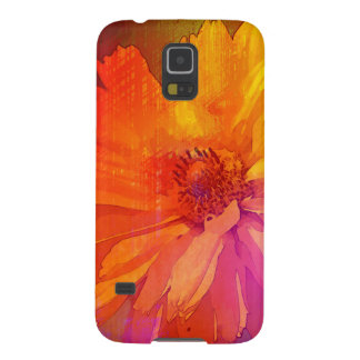 Art Floral Vintage Rainbow Background Galaxy S5 Cases