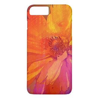 Art Floral Vintage Rainbow Background iPhone 8 Plus/7 Plus Case
