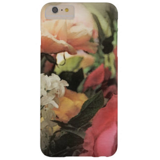 art floral vintage vibrant background with red barely there iPhone 6 plus case