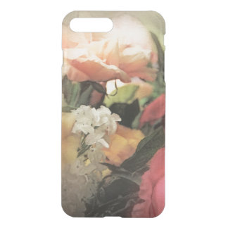 art floral vintage vibrant background with red iPhone 7 plus case