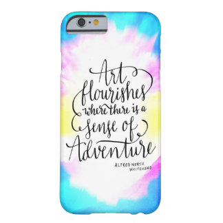 Art Flourishes Adventure Life Quote iPhone 6 Case Barely There iPhone 6 Case