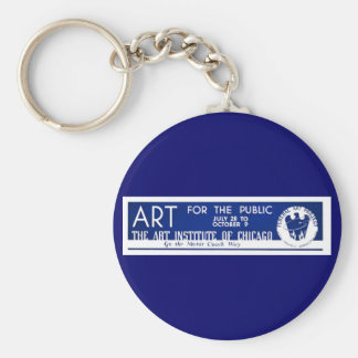 Art for the Public  - WPA Poster - Key Ring
