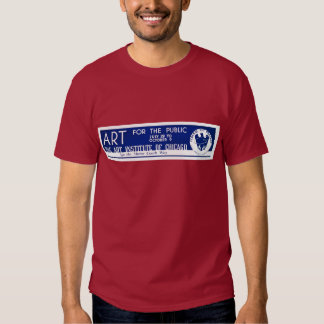 Art for the Public  - WPA Poster - T Shirt