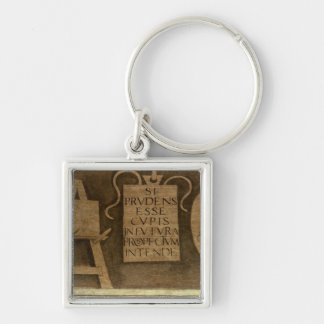 Art, from 'The Liberal Arts' cycle (fresco) Keychain