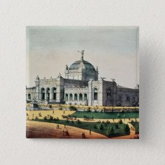Art Gallery 15 Cm Square Badge