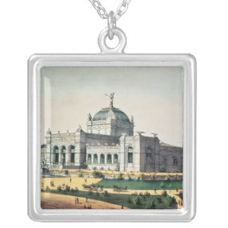 Art Gallery Silver Plated Necklace