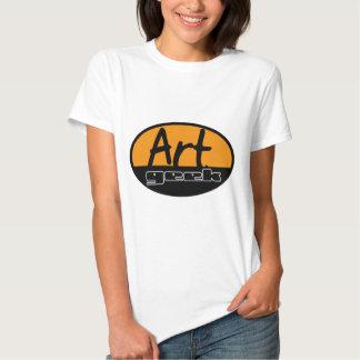 art geek tee shirt