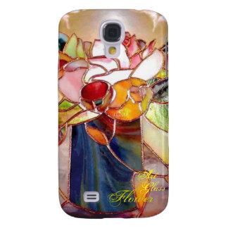 Art Glass Flower Classy 3G  Samsung Galaxy S4 Cases