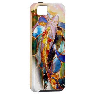 Art Glass Japanese Koi Fish Elegant iPhone 5 Case