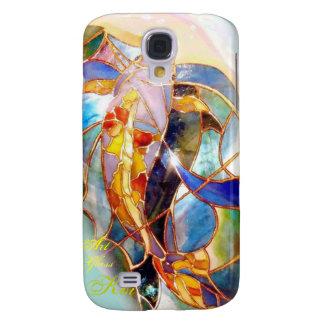 Art Glass Koi Classy  Samsung Galaxy S4 Cover
