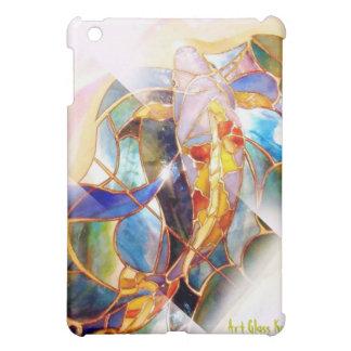 Art Glass Koi Elegant iPad Case Vertical