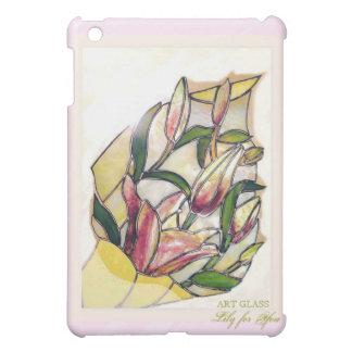 ART GLASS Lily Bouquet Elegant iPad Case