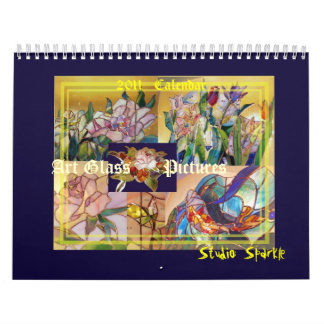 Art Glass Pictures of Stained Glass (2011) Calendars