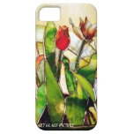 Art Glass Tulip Lovely Barely There iPhone 5 Cover