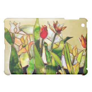 Art Glass Tulips Cheerful iPad Case