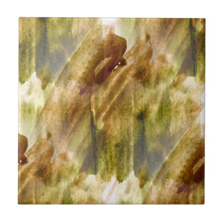 art green, brown hand paint background seamless tile