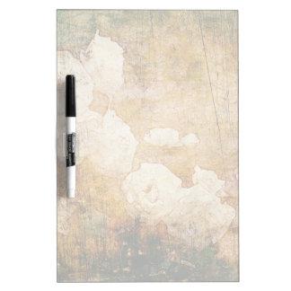 art grunge floral vintage background texture Dry-Erase boards