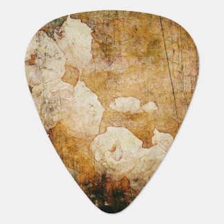 art grunge floral vintage background texture guitar pick