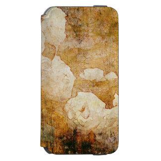 art grunge floral vintage background texture incipio watson™ iPhone 6 wallet case
