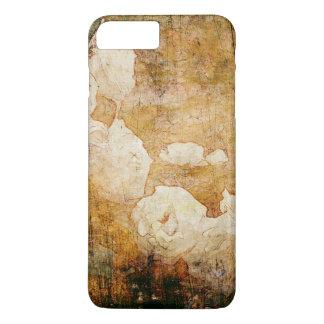 art grunge floral vintage background texture iPhone 8 plus/7 plus case