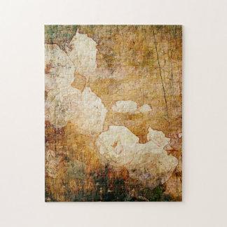 art grunge floral vintage background texture jigsaw puzzle