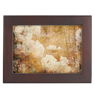 art grunge floral vintage background texture keepsake box