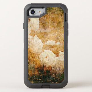 art grunge floral vintage background texture OtterBox defender iPhone 8/7 case
