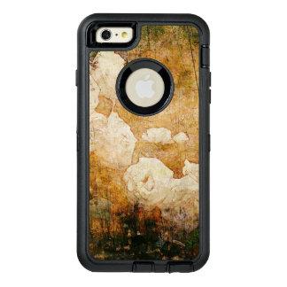 art grunge floral vintage background texture OtterBox defender iPhone case