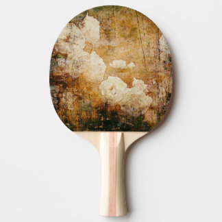 art grunge floral vintage background texture ping pong paddle