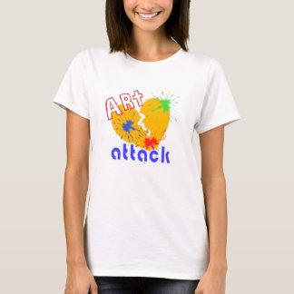 Art heart attack retro T-Shirt