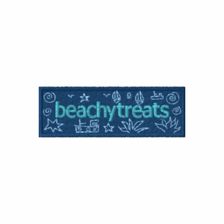 Art Hoodie: Classic Beachy Treats Embroidered Hooded Sweatshirts
