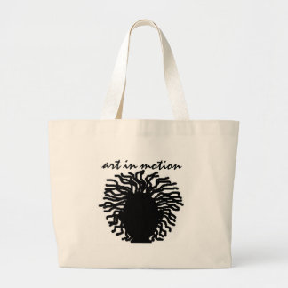 art in motion large tote bag