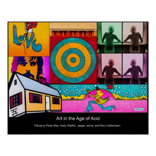 Art in the Age of Acid Poster