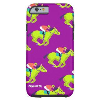 Art iPhone 6 Case: Horse Racing Tough iPhone 6 Case
