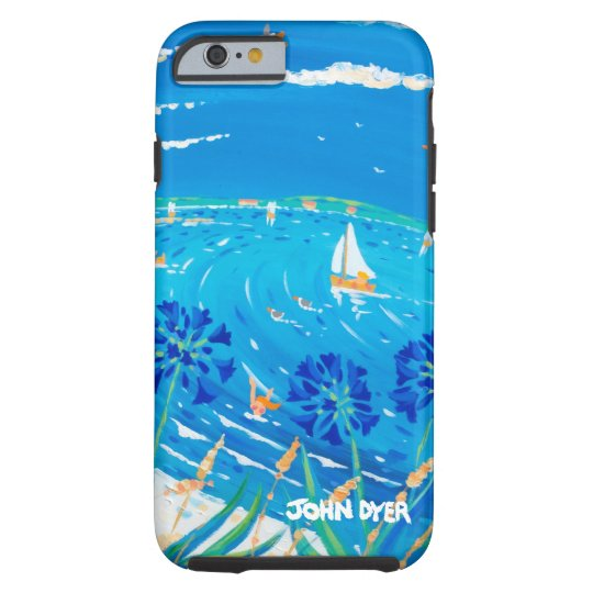 Art iPhone 6 Case: Scilly Blue Tough iPhone