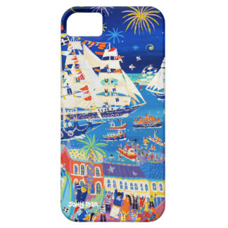 Art iPhone Case: Tall Ships Regatta by John Dyer iPhone 5 Case