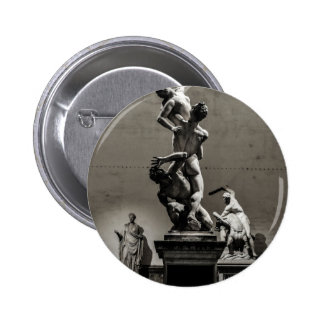 Art is beautiful! 6 cm round badge
