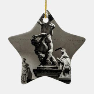 Art is beautiful! ceramic star decoration