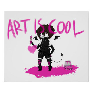 Art is Cool! Poster